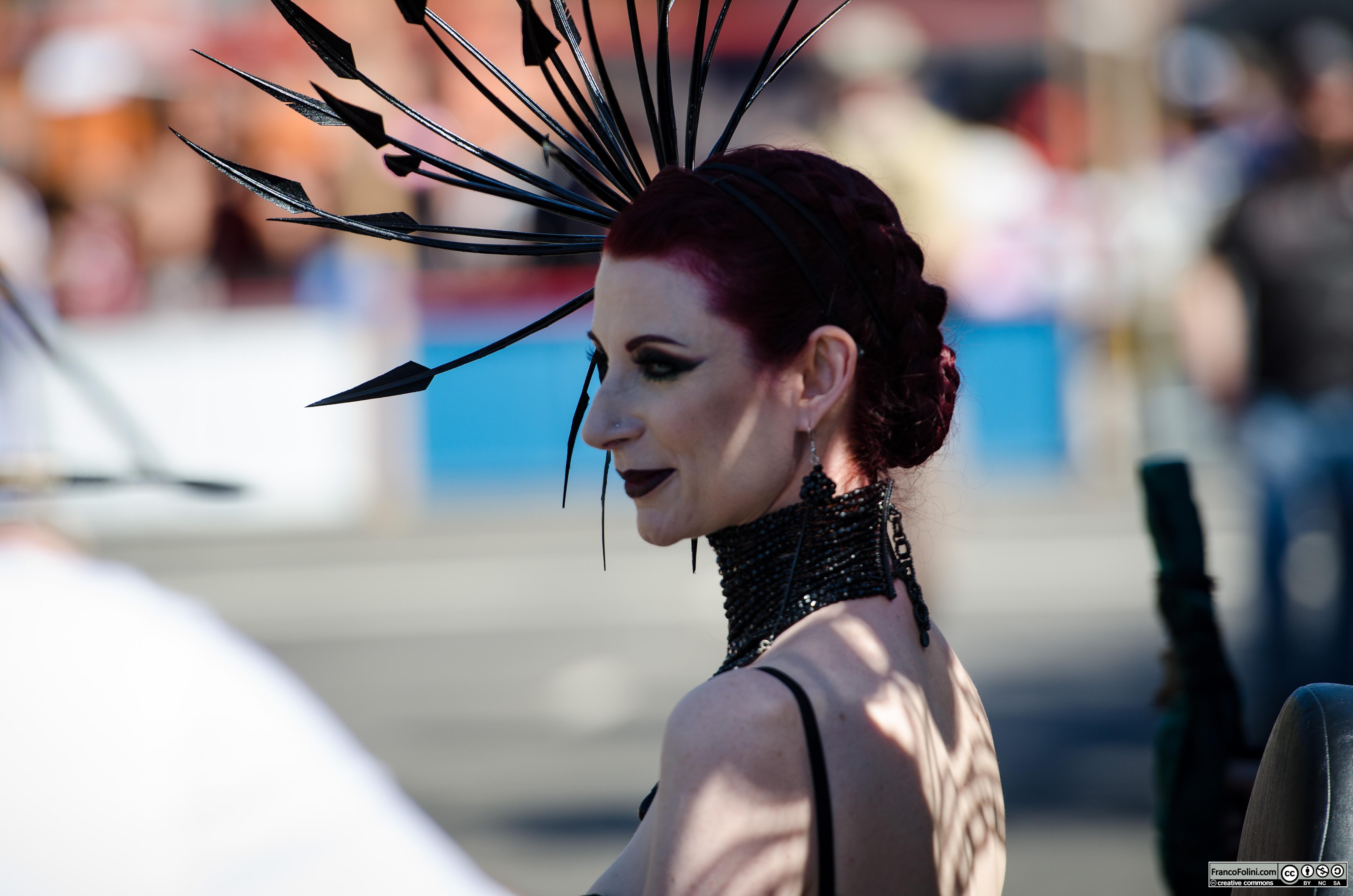 Liliane Hunt at the San Francisco Folsom Street Fair 2016