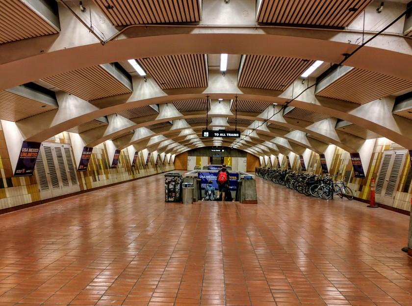 BART station at 24th Street