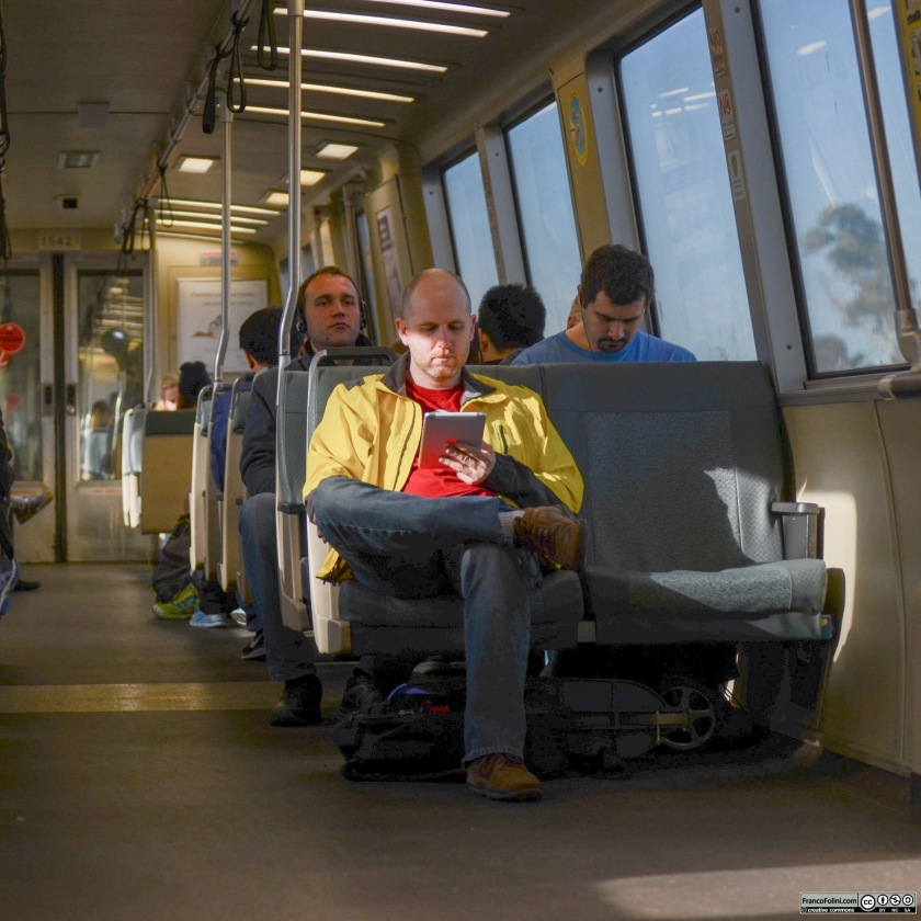 Traveling by BART