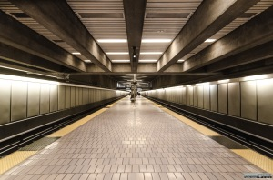 Ashby BART station on a saturday morning