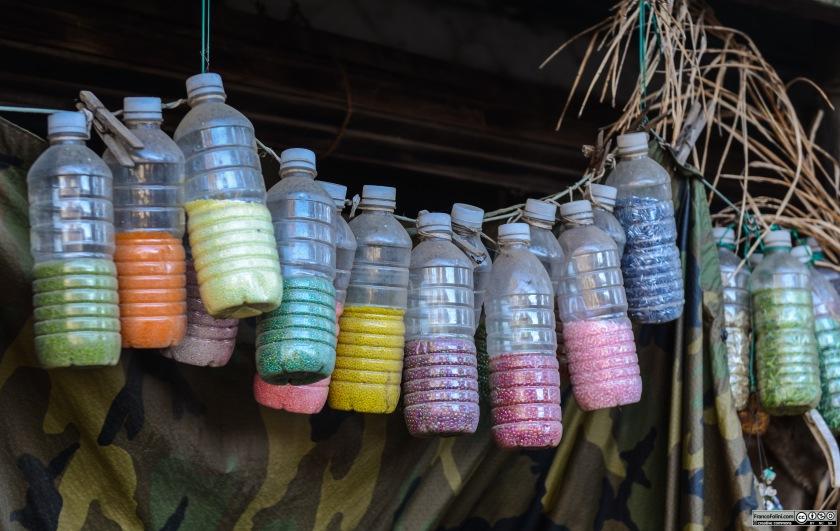 Colors, outside Martha Esch artist studio-shop, Locke, CA