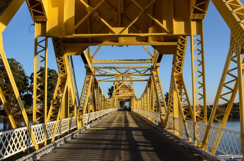 Bridge on the Sacramento River Locke, CA