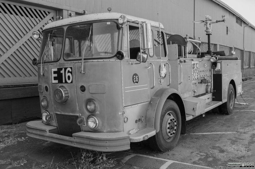 The old Locke's Fire Fighters Truck