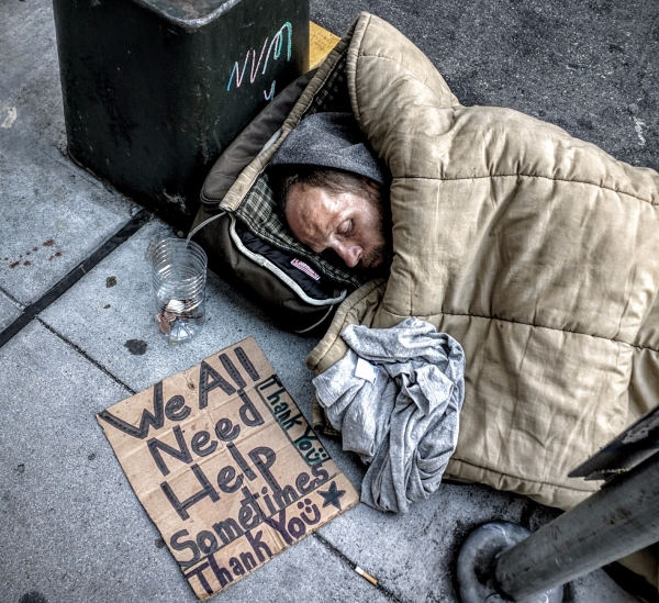 Homeless in San Francisco