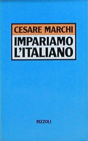 Impariamo l'italiano, Cesare Marchi