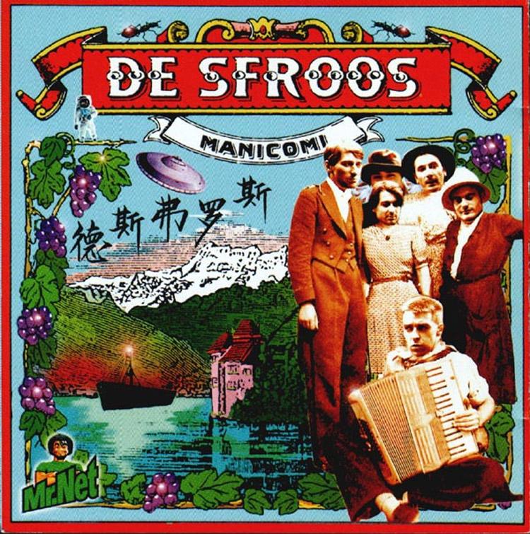 Il primo album dei Der Sfroos s intitola Manicomi ed è stato pubblicato nel 1995