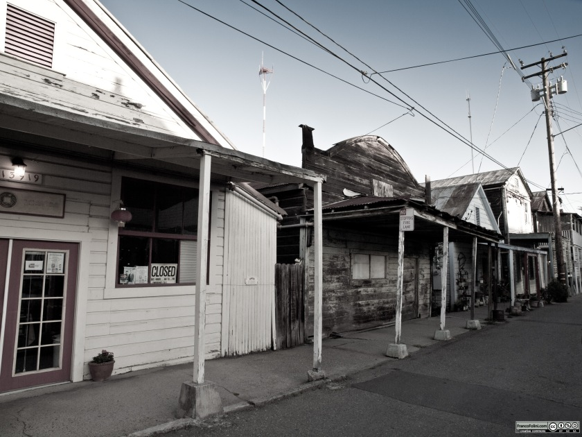 Locke, an old Chinese vilage in California