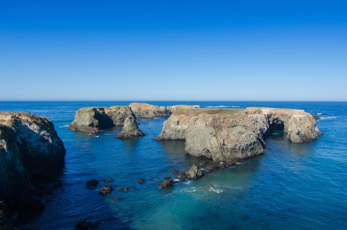 Pacific Coast in Mendocino, CA