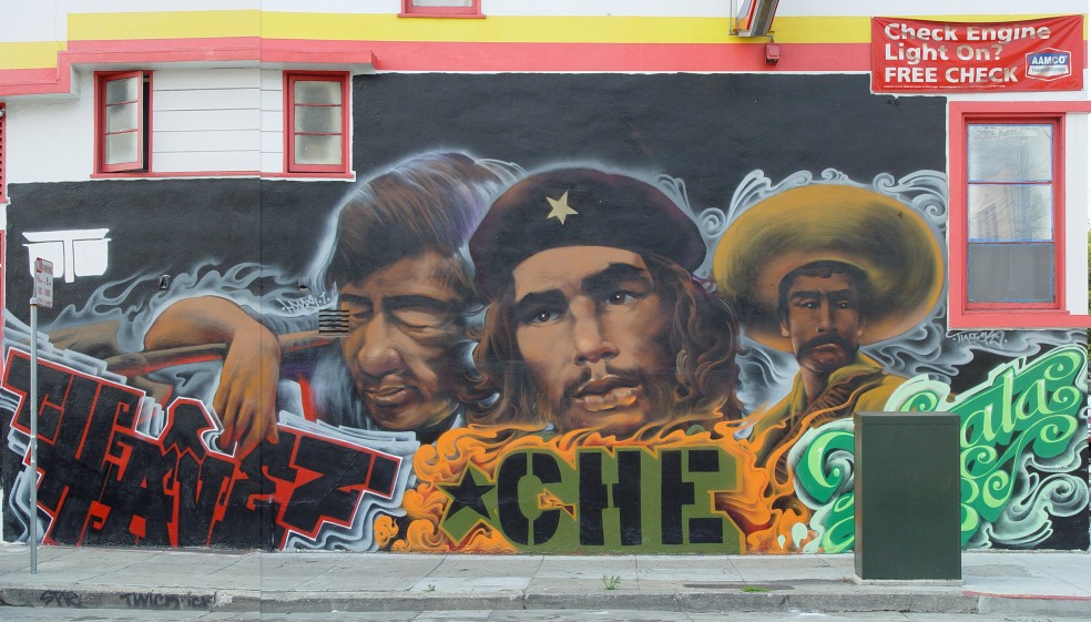 Che Guevara, Cesar Chavez, and Emiliano Zapata