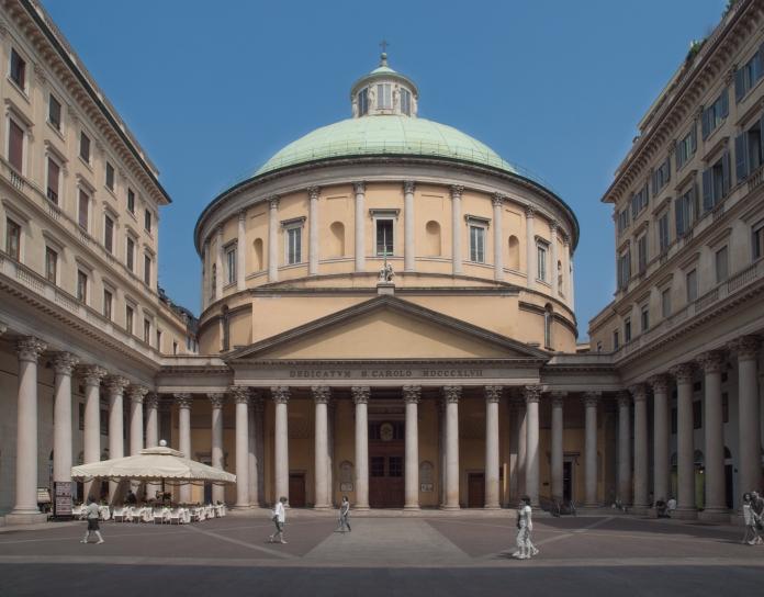 Church of San Carlo Al Corso, Galleria del Corso, 1 - Milano Italy