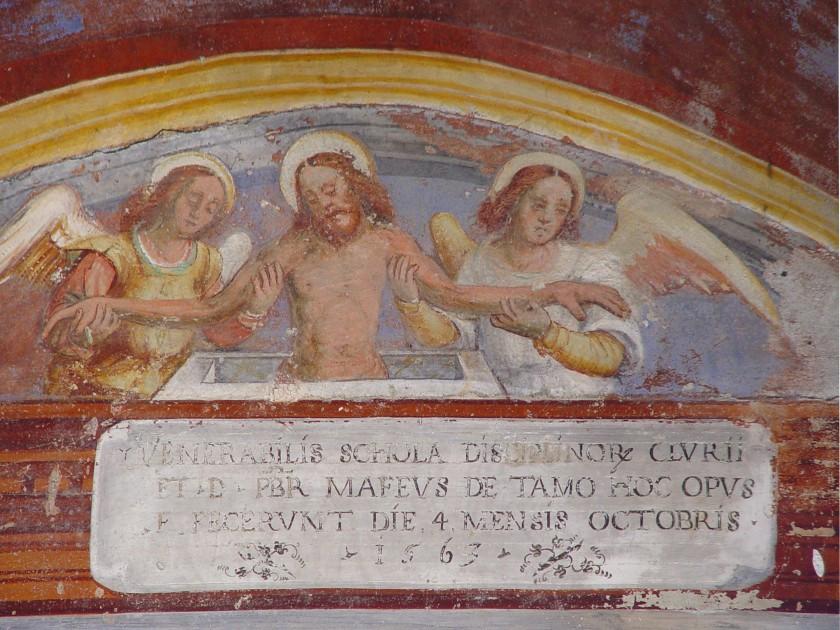 Cappella dei Disciplini, Chiuro