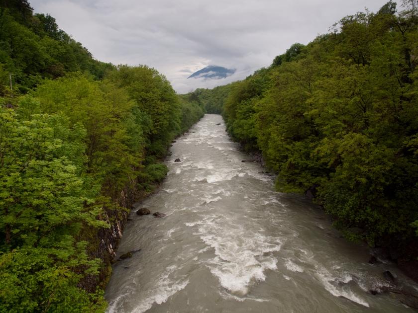 Il fiume Adda dal ponte di Casacce