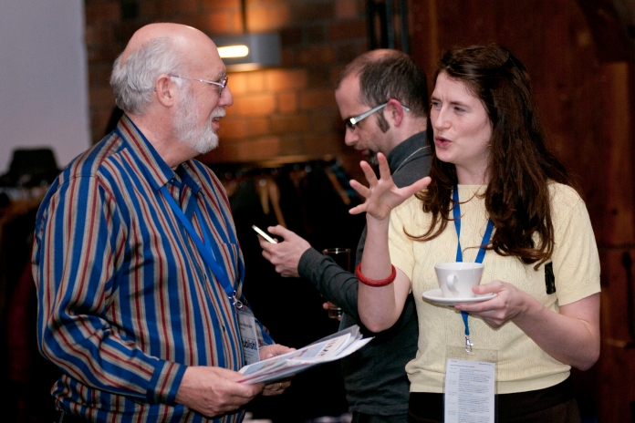 Networking at Publish! 2011