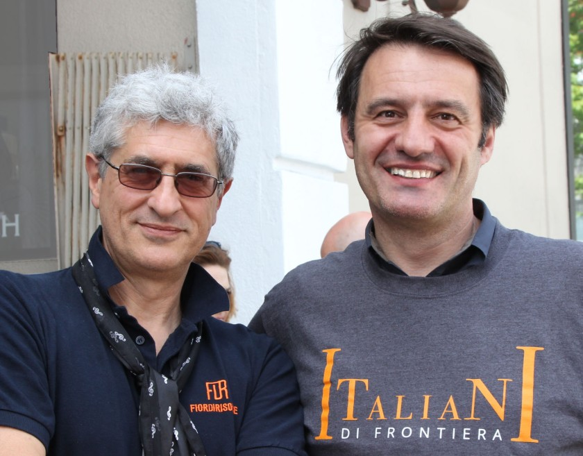 Roberto Bonzio and Franco Folini