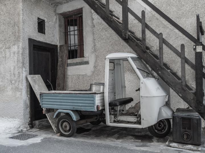 Parcheggio ottimizato a Sondrio