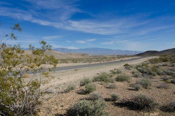 Si entra nella Death Valley