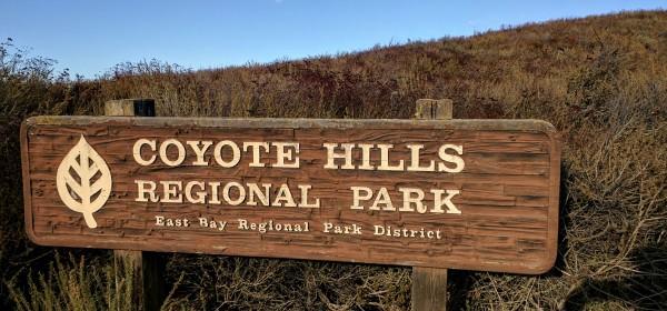 Il cartello che segnala l'ingresso nel parco
