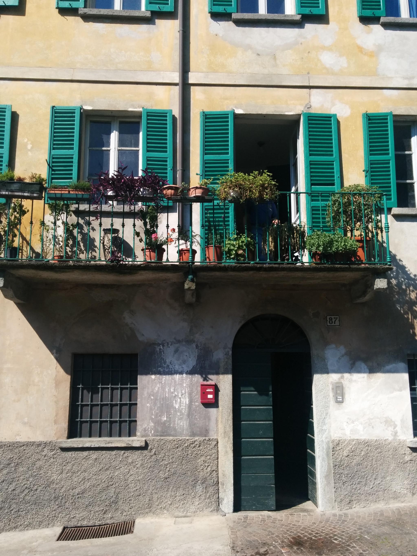 Vecchia casa in contrada Scarpatetti, a Sondrio