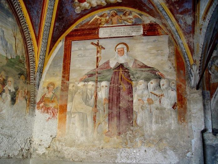 Afffresco del 1562, Cappella dei Disciplini, Chiuro