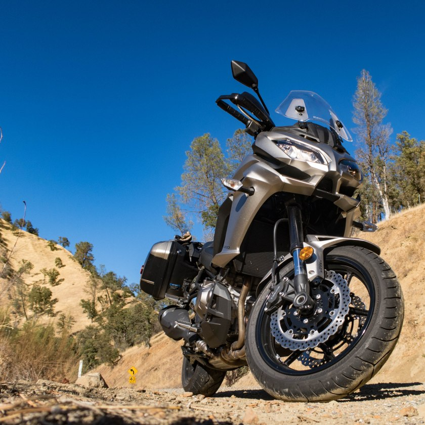 Kawasaki Versys 1000 LT: riding to Wilbur