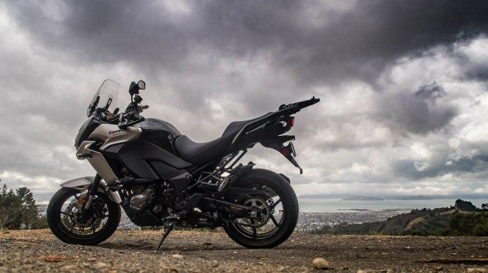 Kawasaki Versys 1000 LT: over the San Francisco bay