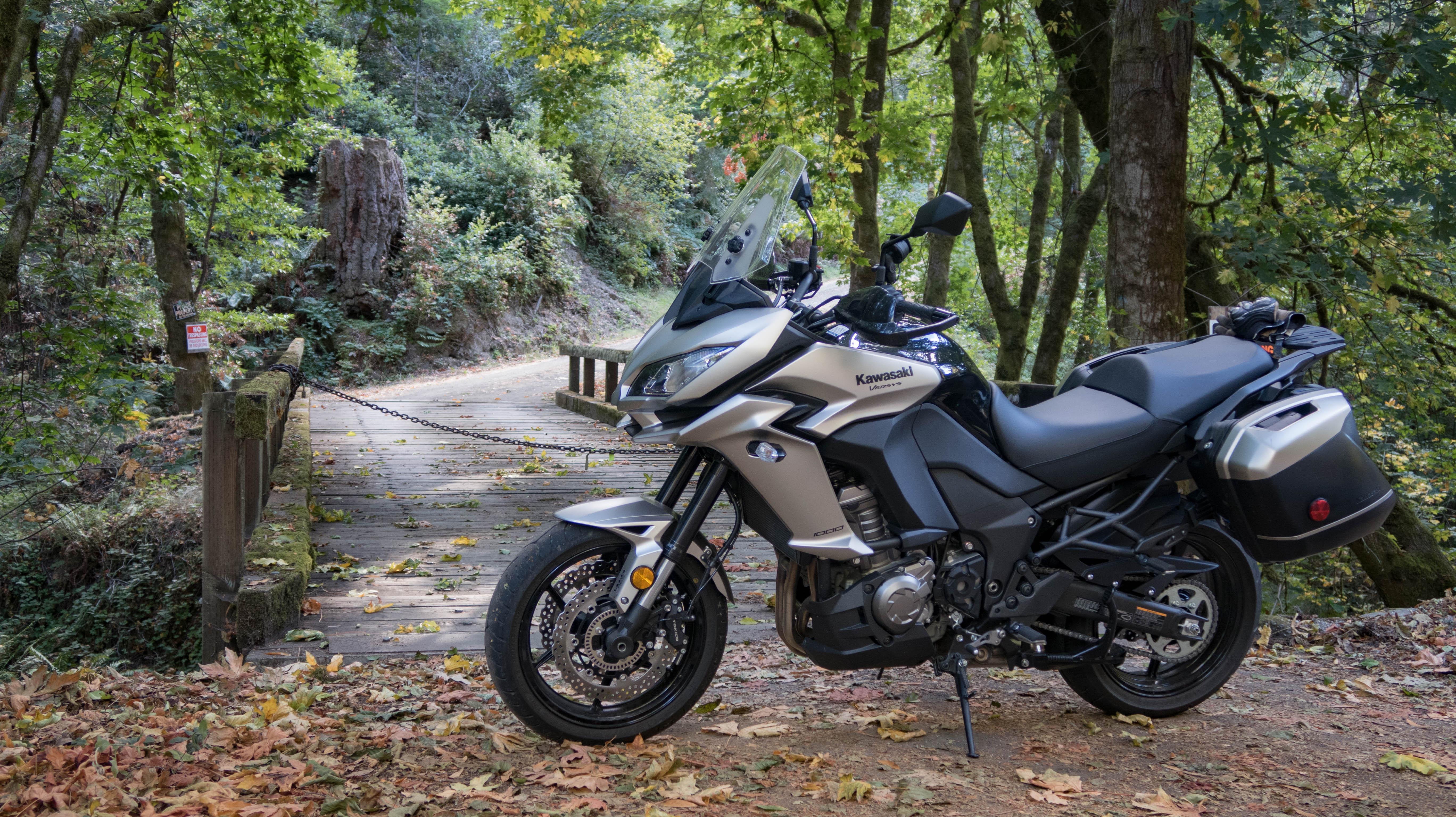 Kawasaki Versys 1000 LT: Purisma State Park