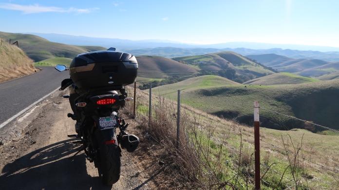 Kawasaki Versys 1000 LT: the hills South of the Morgan Territory