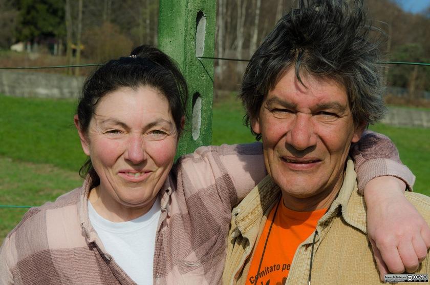 Patrizio Mazzucchelli e la sua compagna