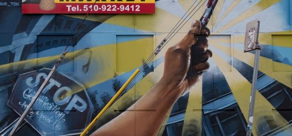 Stop Gentrification Mural, Oakland, CA