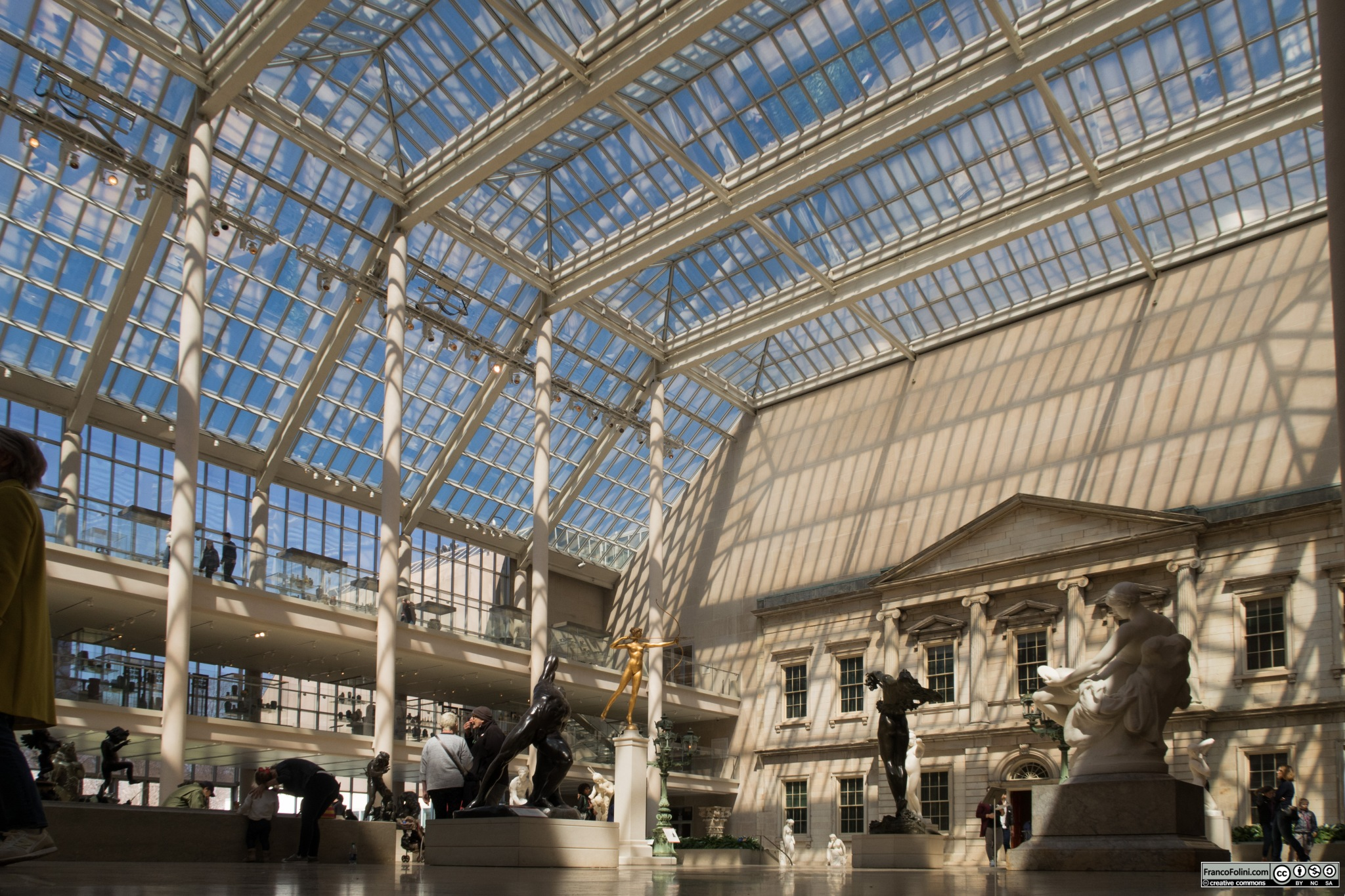 The Charles Engelhard Court, American Wing, Metropolitan Museum of Art, NYC