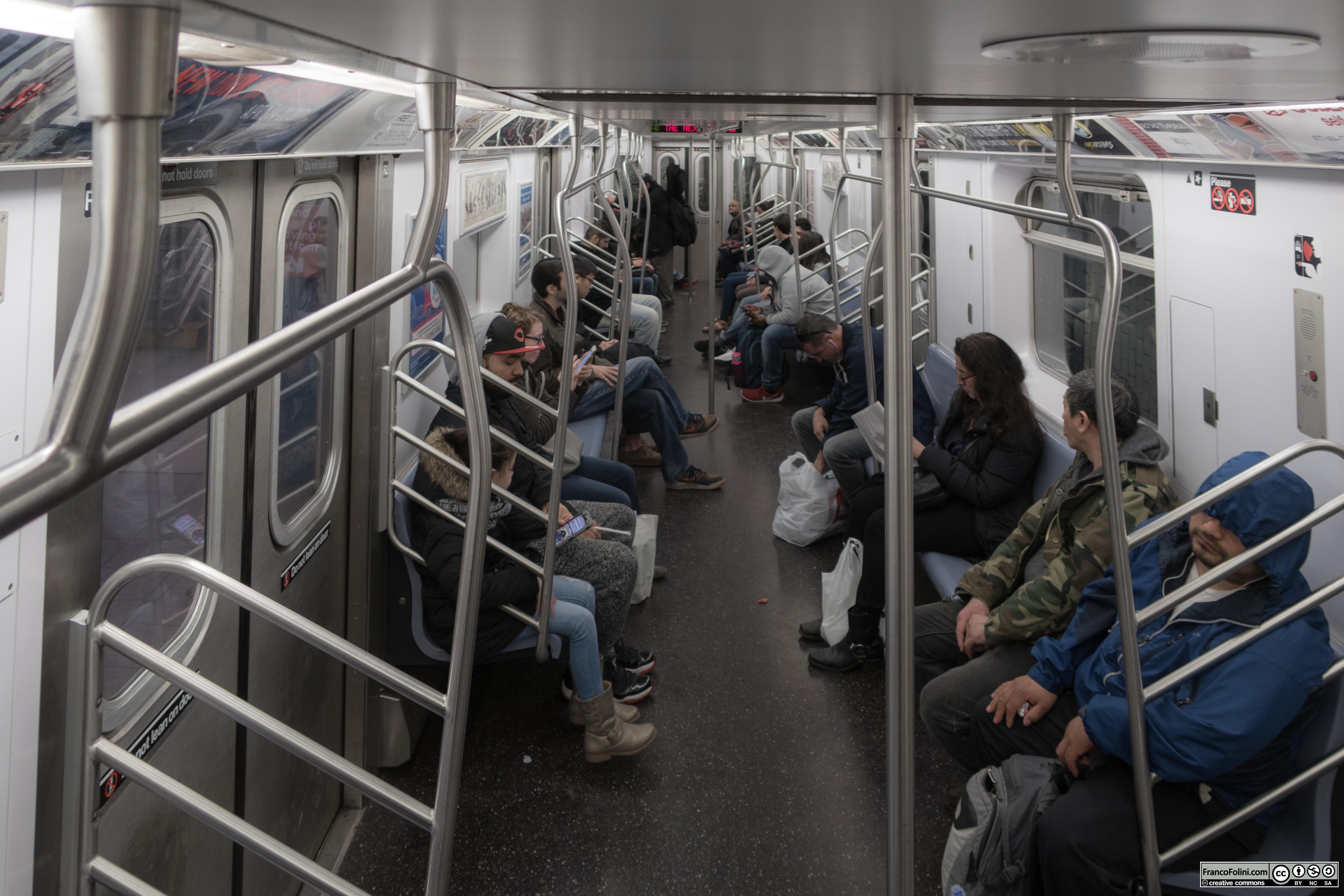 The New York City Subway, NYC