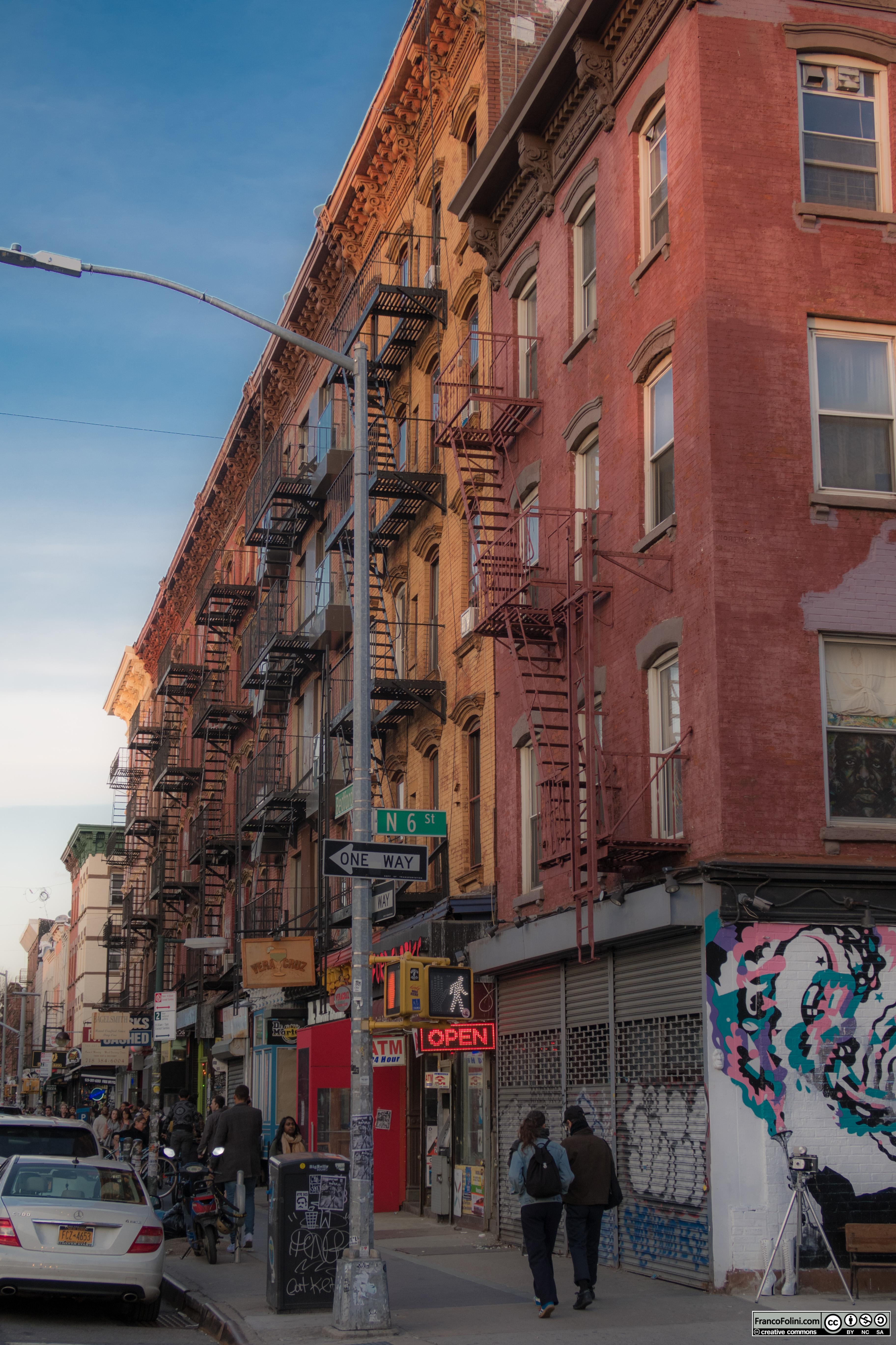 Bedford Ave at N 6st Street, Brooklyn