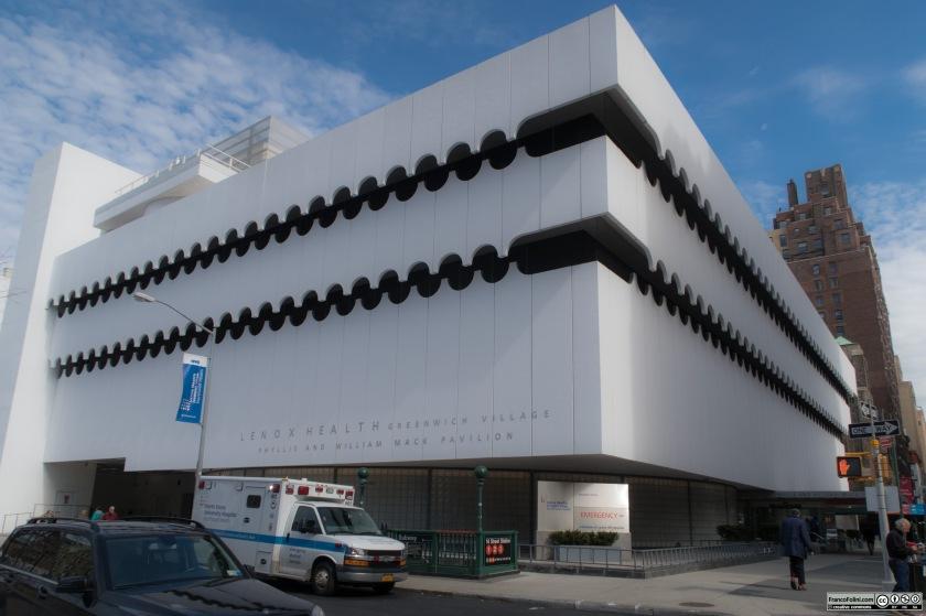 Lenox Hill Healthplex designed by Albert Ledner in 1964