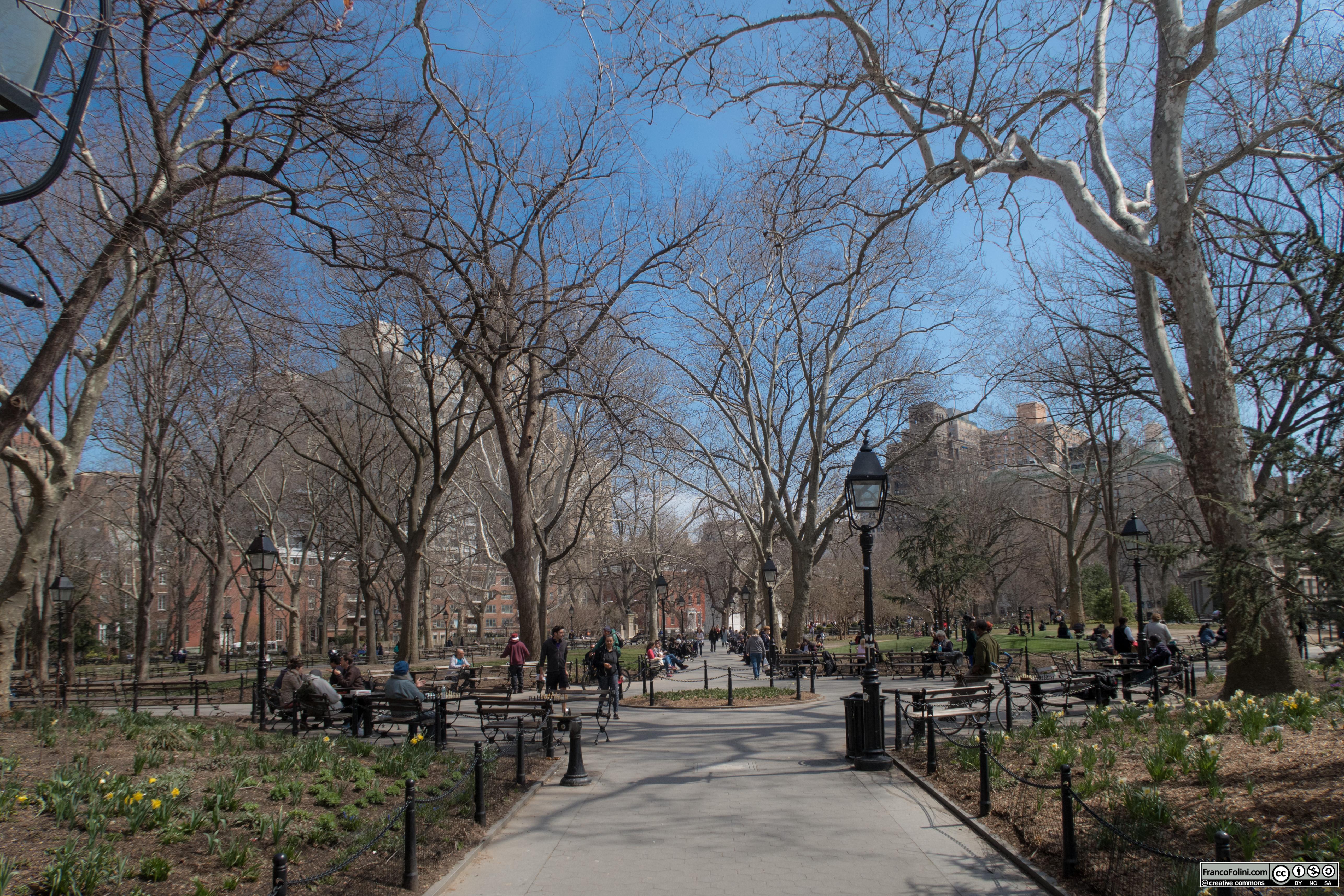 Washington Square Park ,NYC