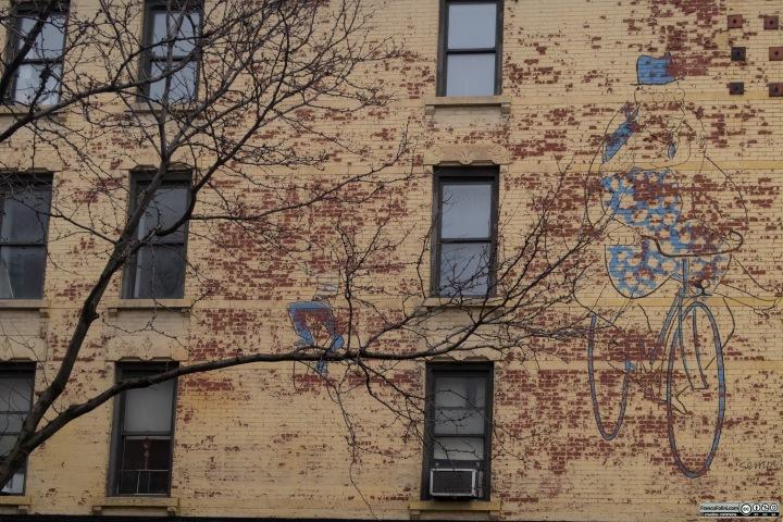 Gigantic Mural, New York, USA