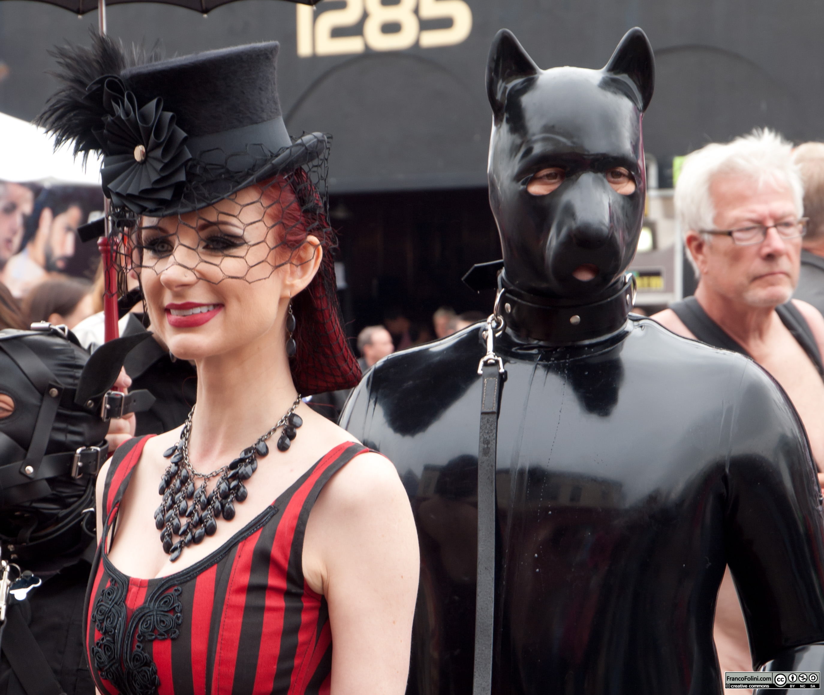 Liliane Hunt at the San Francisco Folsom Street Fair 2011