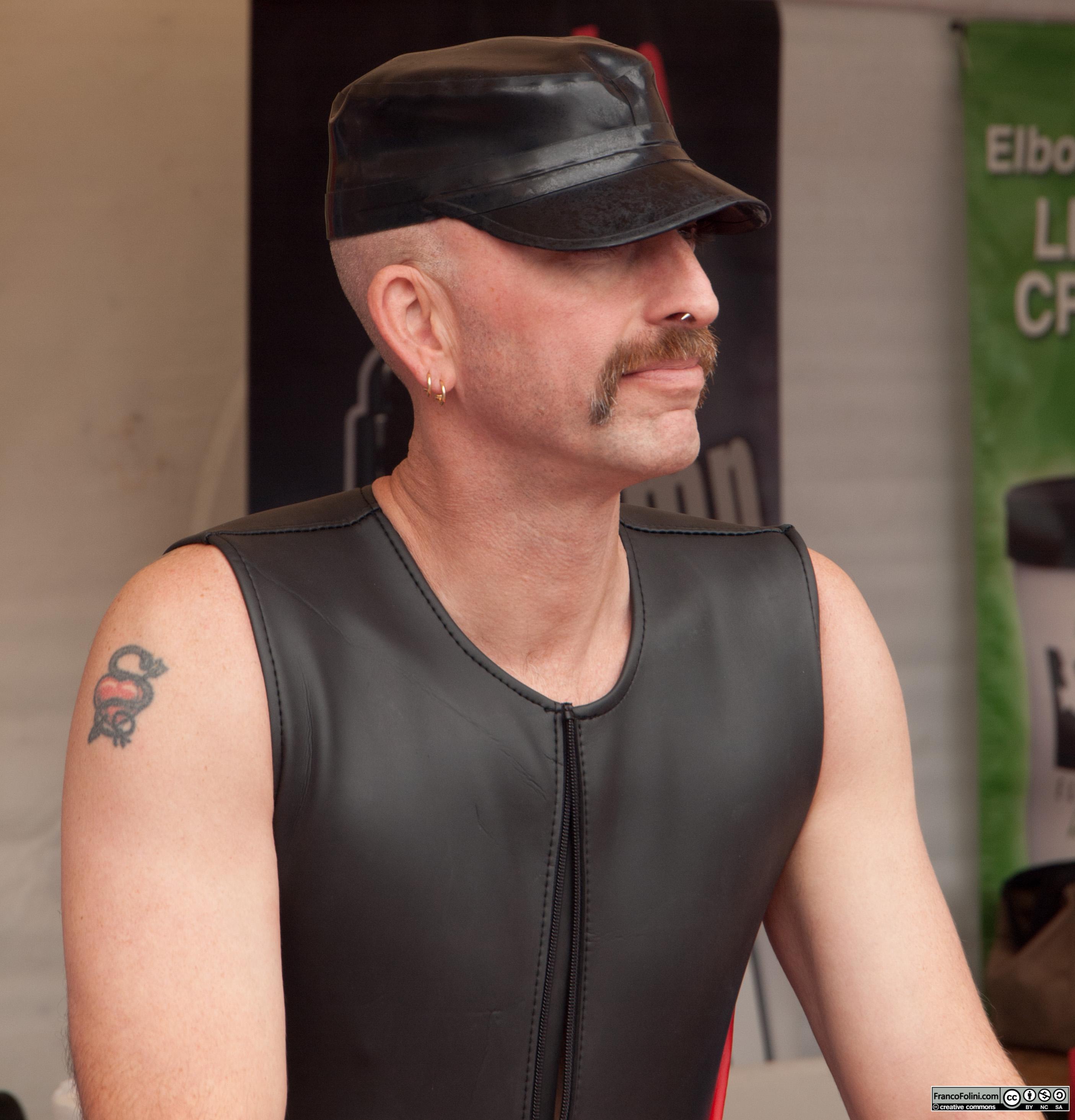 San Francisco Folsom Street Fair: leather guy
