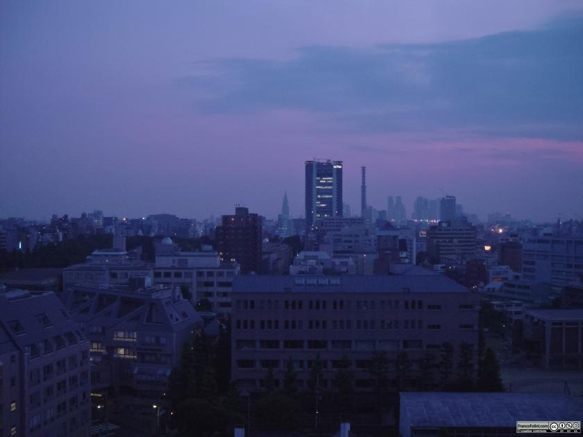 Tokyo: vista notturna