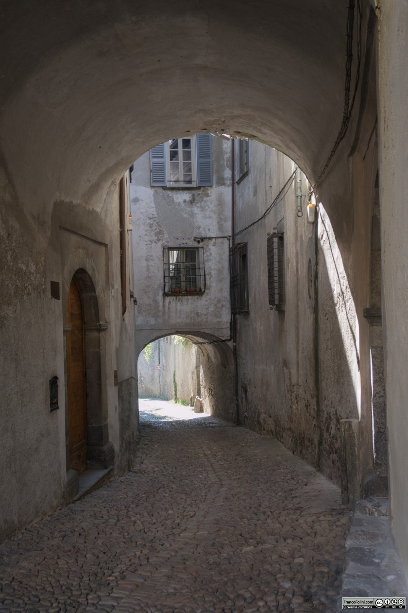 Via Chiuro detta Rüascia, Ponte in Valtellina