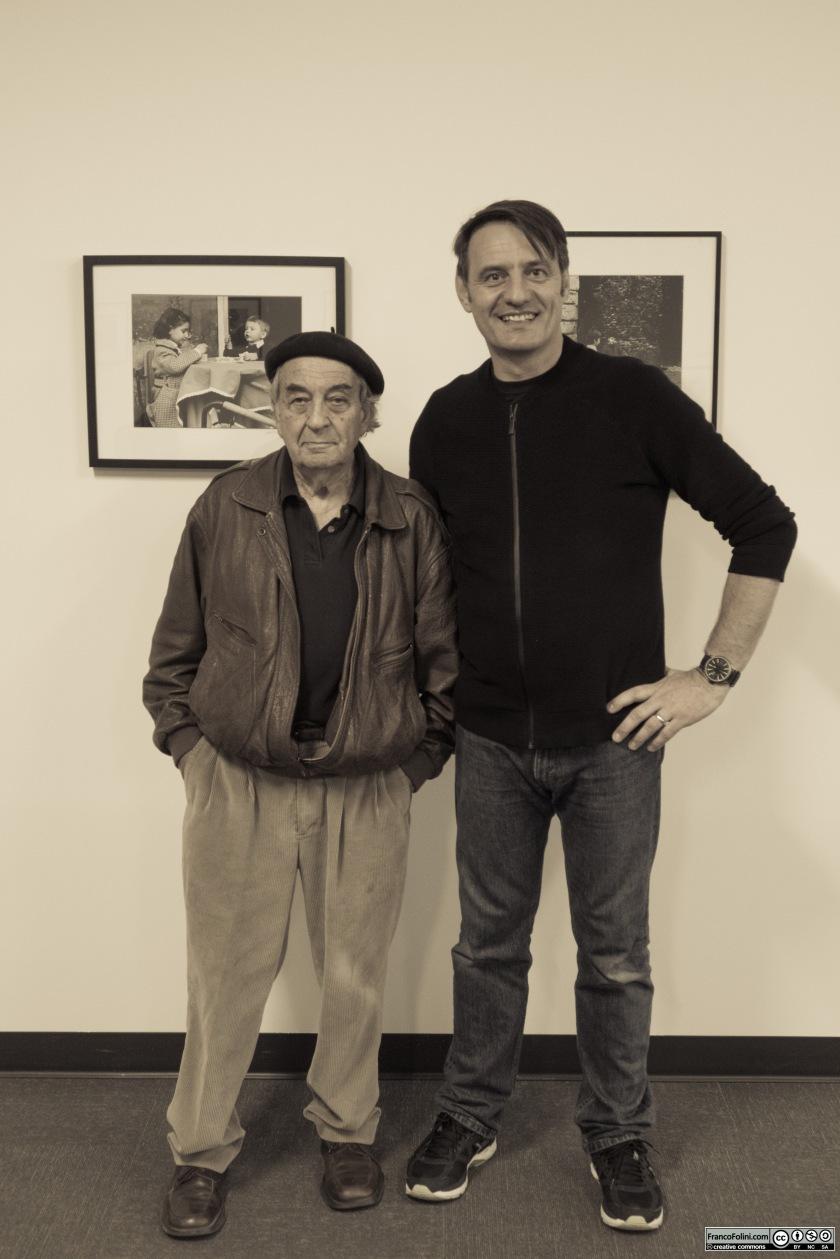 Io e Jeff Blankfort all'Istituto Italiano di Cultura di San Francisco