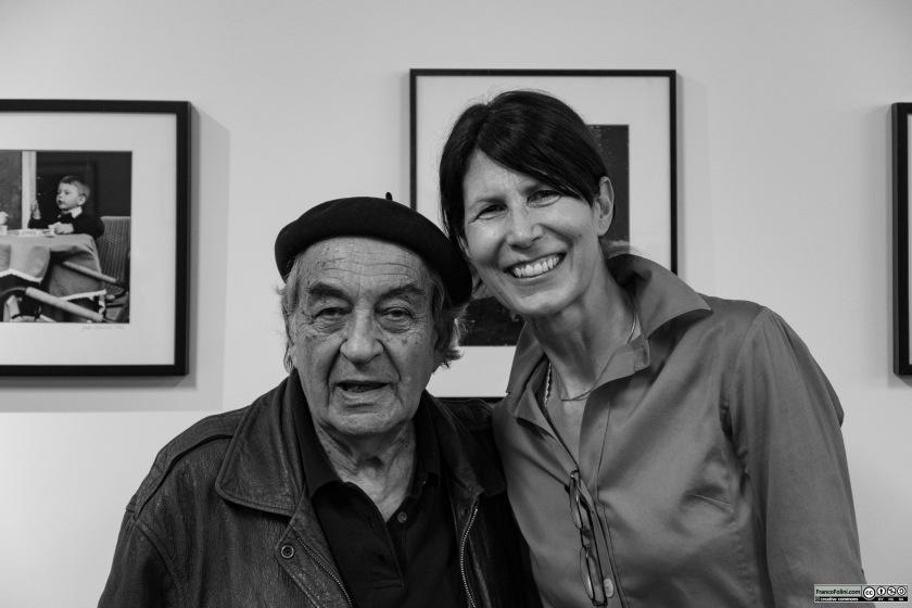 Jeff Blankfort con Franca Cavallaro all'Istituto Italiano di Cultura di San Francisco