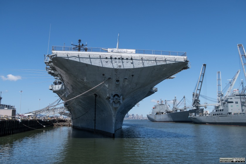 The historical Hornet aircraft carrier in Alameda