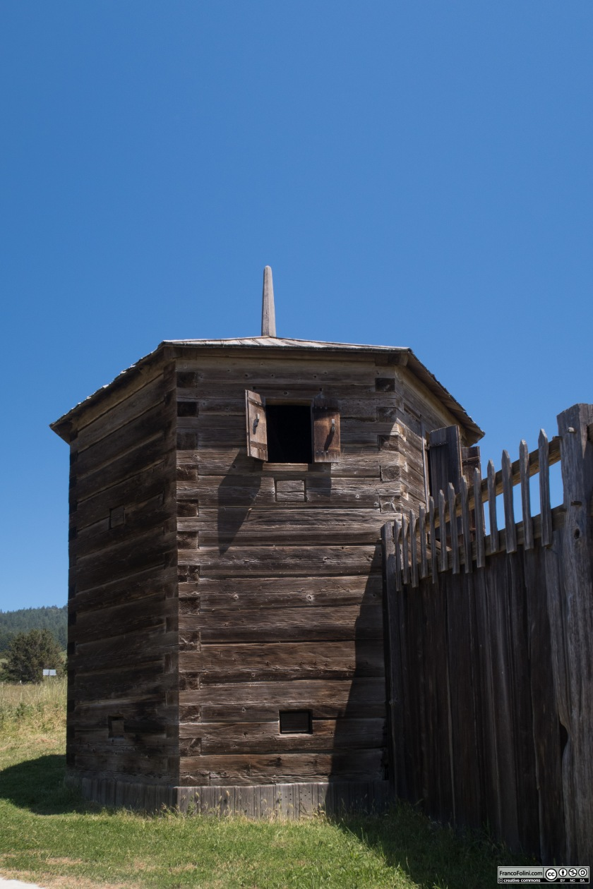 Fort Ross: torre angolare di difesa
