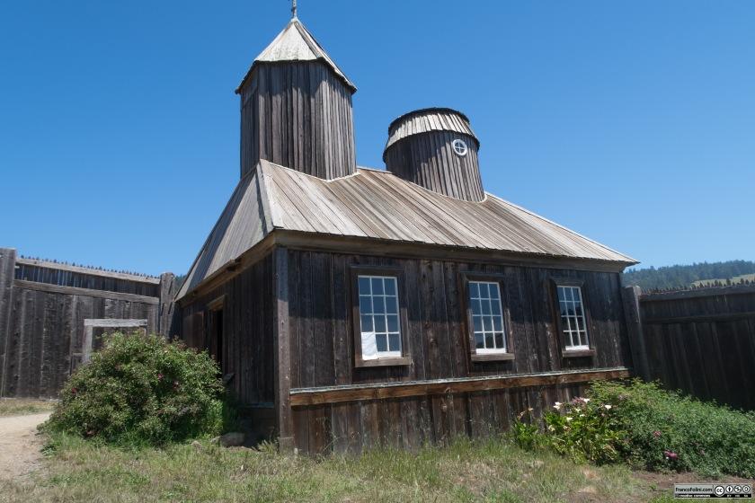 Fort Ross: la cappella ortodossa