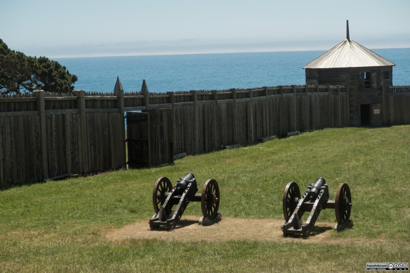 Fort Ross: i cannoncini di difesa che non vennero mai utilizzati.