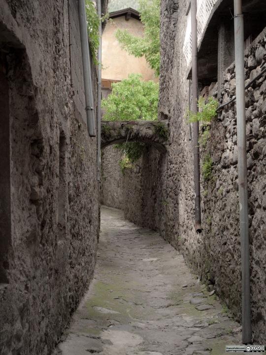 Angoli nascosti di Chiuro: la piccola via detta Strencia