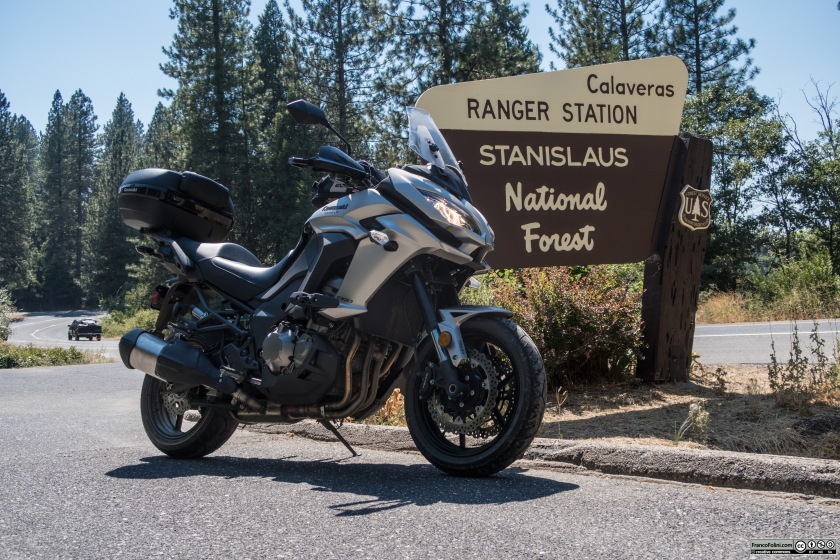 Stanislaus National Forest. The Ranger Station