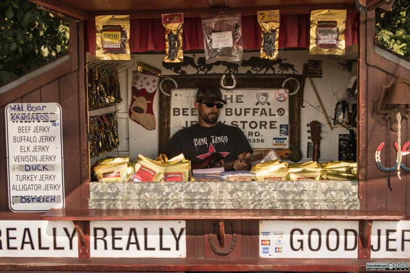 Highway 4: venditore di beef jerky