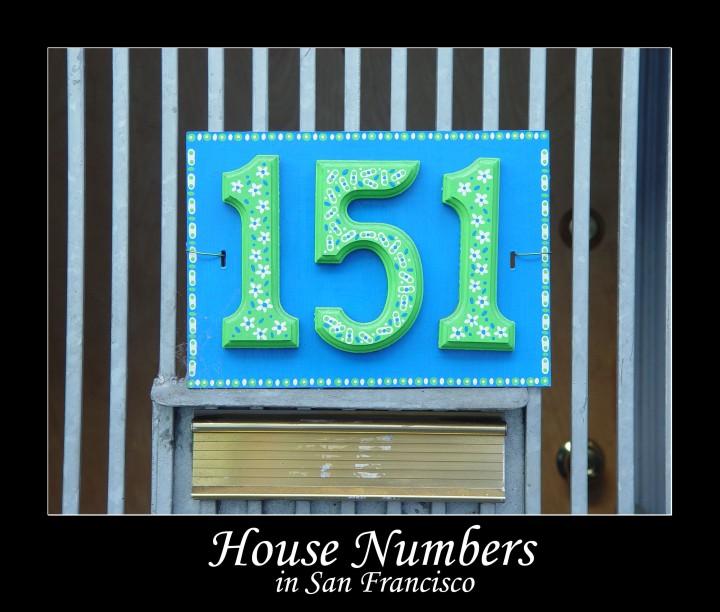 Numeri civici a San Francisco