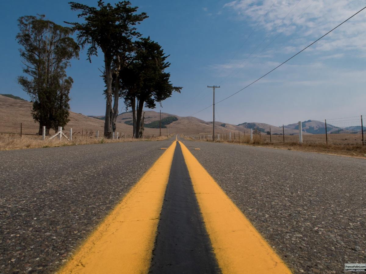 La Cileno Valley Road tra Petaluma e Tomales